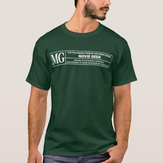 Movie Geek Rating Tshirt