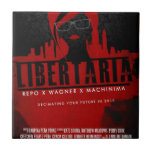 Movie Gifts from Libertaria Ceramic Tile