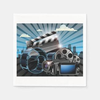 Movie Industry Napkin