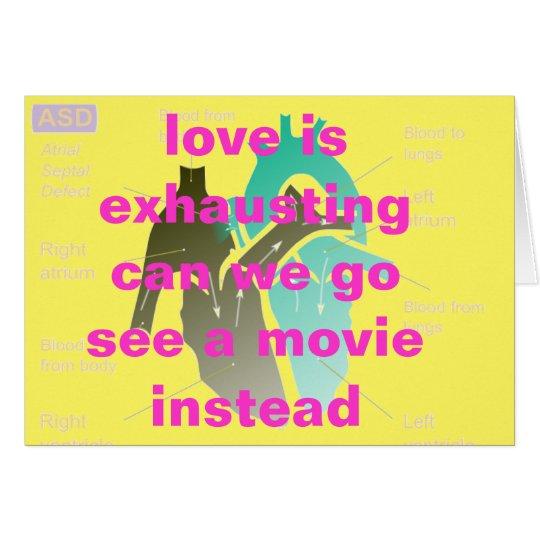 movie instead/ card