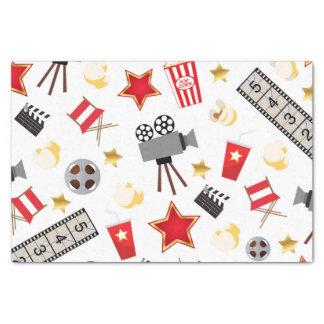 """Movie Lover Pattern 10"""" X 15"""" Tissue Paper"""