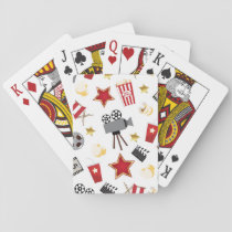 Movie Lover Pattern Playing Cards