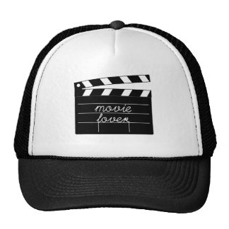 Movie Lover Tshirt Hats