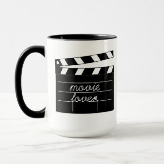Movie Lover Tshirt Mug
