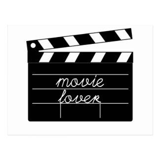 Movie Lover Tshirt Postcard