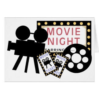 Movie Lovers Card-All Occasion Card