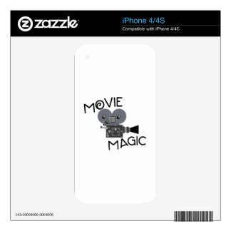 Movie Magic Skins For The iPhone 4