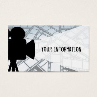 Movie maker business card