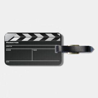 Movie maker clapper board Hang Tag