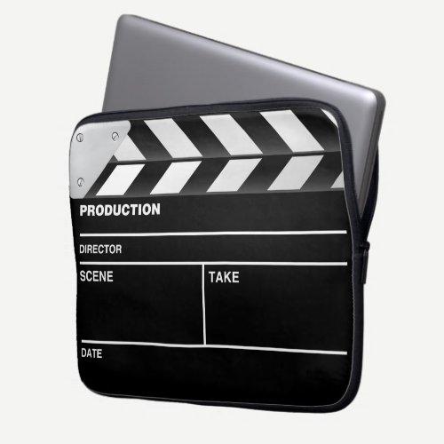 Movie maker clapper board Laptop Case