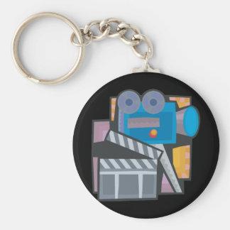 Movie Making Keychain
