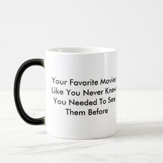 Movie Mangle Logo Merch 11 Oz Magic Heat Color-Changing Coffee Mug