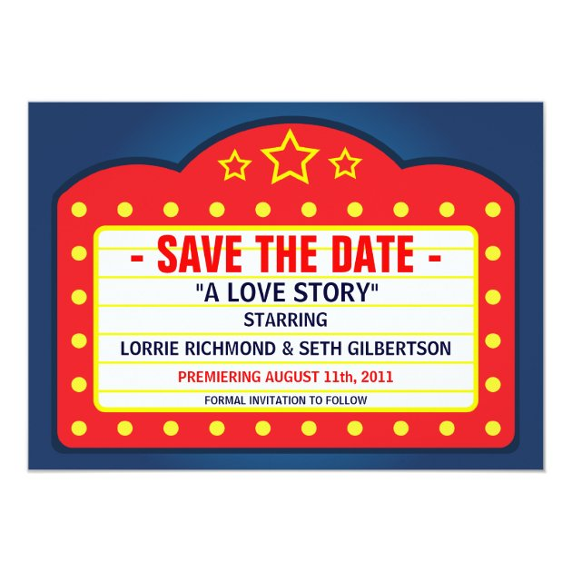 Save the date trailer in Melbourne