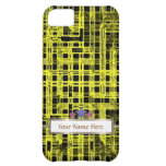 Movie marquee with yellow grid Ipone5 Case Case For iPhone 5C