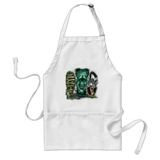 Movie Monsters Adult Apron