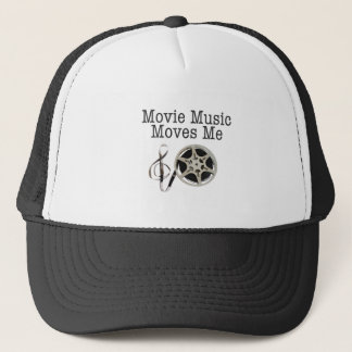 Movie Music Moves Me Trucker Hat