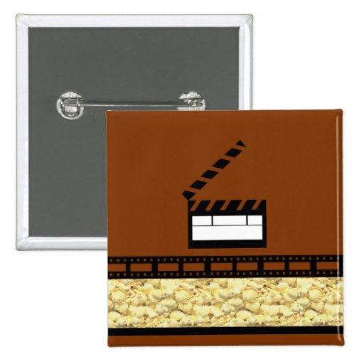 Movie Night 2 Inch Square Button