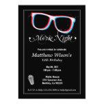 Movie Night 5x7 Paper Invitation Card