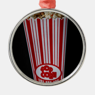 Movie Night and Popcorn Ornaments