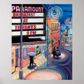 Movie Night-Art Poster