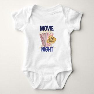 Movie Night Baby Bodysuit