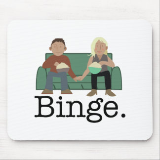Movie Night Binge Mouse Pad