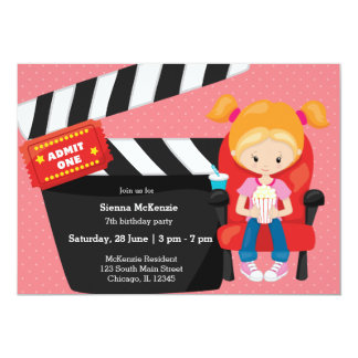 Movie night * choose background color card