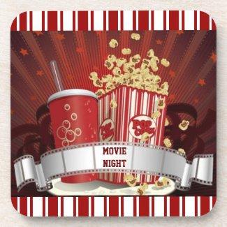 Movie Night Coaster