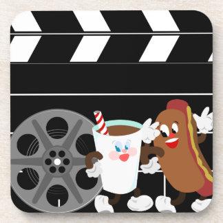 Movie Night Coasters