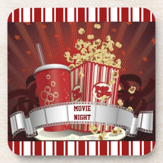 Movie Night Drink Coaster