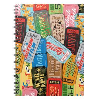 Movie Night Journal Spiral Notebook