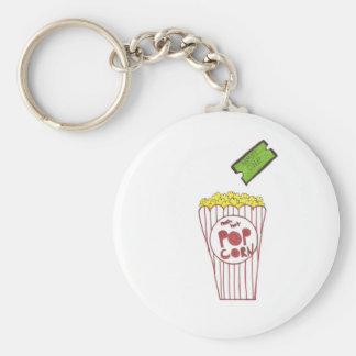 Movie Night Keychain