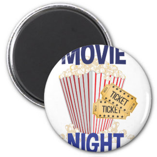 Movie Night Magnet