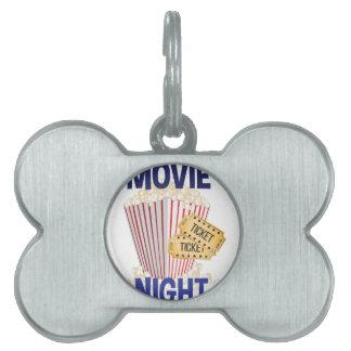 Movie Night Pet Tag