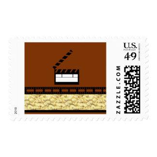 Movie Night Stamp