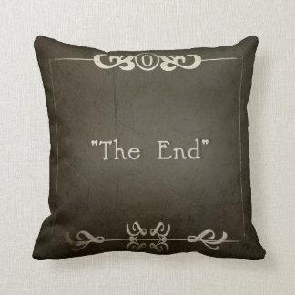 "MOVIE NIGHT~ ""THE END"" THROW PILLOW"