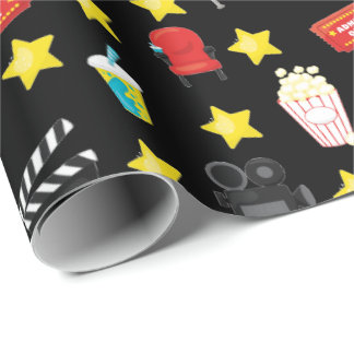Movie Night Theme Gift Wrap