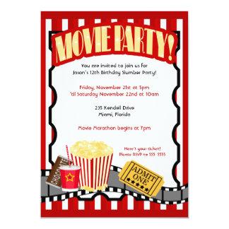 Movie Party Invitations purplemoonco
