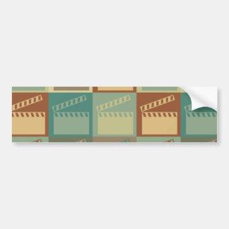 Movie Pop Art Car Bumper Sticker