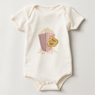 Movie Popcorn Baby Bodysuit