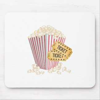 Movie Popcorn Mouse Pad
