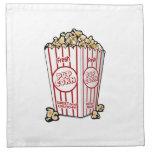 Movie Popcorn Napkin