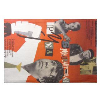"Movie poster ""Brilliantovaya Ruka"" Cloth Placemat"
