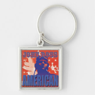 Movie Poster Keychain 'John Ross: American'