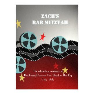 Movie Premiere Bar Mitzvah Card