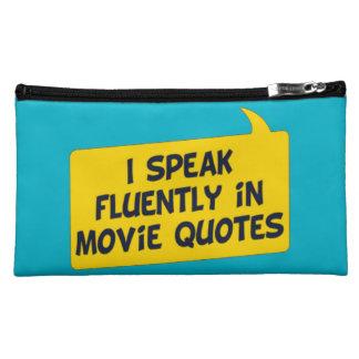 Movie Quotes Makeup Bag