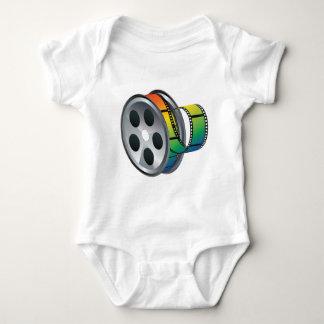 Movie Reel 2 Baby Bodysuit