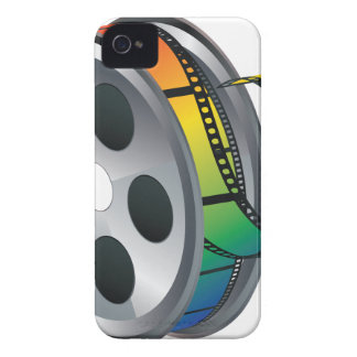 Movie Reel 2 iPhone 4 Case