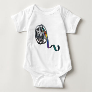 Movie Reel Baby Bodysuit