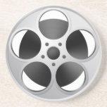Movie Reel coaster bar film stars technology  pict
